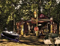 Fishing Camp Fine Art Print
