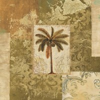 Palm Patchwork I Fine Art Print