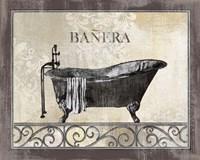 Bath Silhouette III Fine Art Print