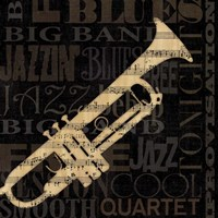 Jazz Improv I Fine Art Print