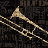 Jazz Improv IV Fine Art Print