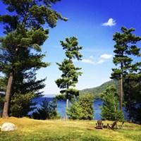 Lake George In September Fine Art Print