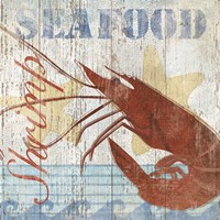Seafood IV Framed Print