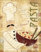 Pizza & Pasta II Fine Art Print