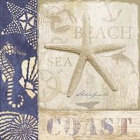 White Sand Blue Sea I Fine Art Print