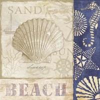 White Sand Blue Sea II Fine Art Print