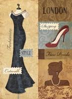Couture Paris & London IV Fine Art Print