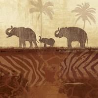 Jungle Family II Fine Art Print
