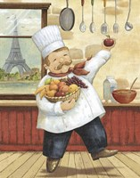 Happy Chef I Fine Art Print