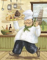 Happy Chef II Fine Art Print