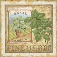 Fine Herbs I Framed Print