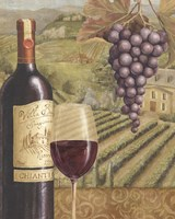 French Vineyard V Framed Print