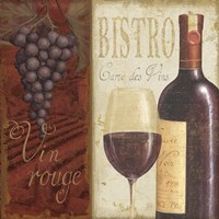 Wine List I Fine Art Print