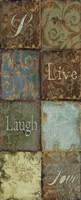 Tapestry Words IV Fine Art Print