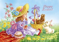 Happy Easter Fine Art Print
