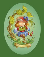 The Fairy On The Swing Fine Art Print