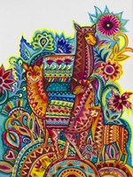 Alpaca From Mexico Fine Art Print
