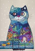 Night Cat 3 Fine Art Print