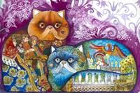 Pushkin Tales 3 Fine Art Print