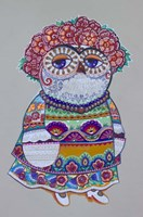 Mexican Folk Owl Fine Art Print