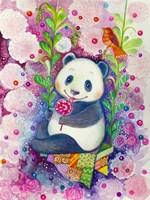 Candy Magic Panda Fine Art Print