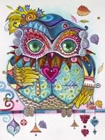 Owl From Venice 1 Fine Art Print