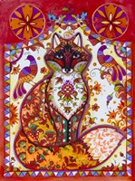 Fox Folk Fine Art Print