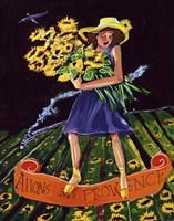 Allons Au Provence Fine Art Print
