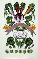 Au Potager Fine Art Print