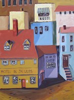 Hotel St. Jacques Fine Art Print