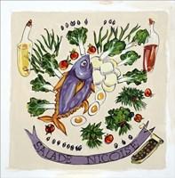 Salade Nicoise Fine Art Print