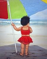 Beach Baby K Fine Art Print
