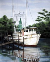 Jax Shrimp Boat Fine Art Print