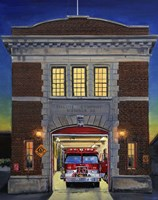 Engine Company 10 Fine Art Print