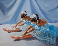 Ballet Blue Fine Art Print