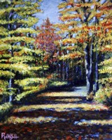 Fall Path Fine Art Print