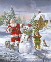 Christmas Friends Fine Art Print