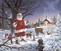Christmas Service Fine Art Print