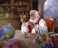 Santas Approval Fine Art Print