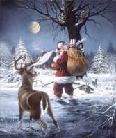 Santas Secret Fine Art Print