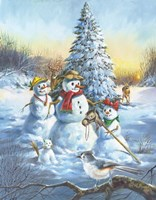 Snow Bird Fine Art Print