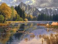 Clearwater Camp - Home Sweet Home Fine Art Print