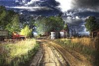 Farm Road Fine Art Print