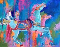 Carousel Horse 1 Fine Art Print