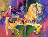 Carousel Horse 2 Fine Art Print