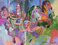 Carousel Horse 3 Fine Art Print