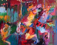 Carousel Horse 4 Fine Art Print
