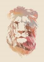 Desert Lion Fine Art Print