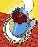 Diner Coffee Fine Art Print