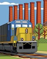Homestead Steel Mill Stacks Fine Art Print